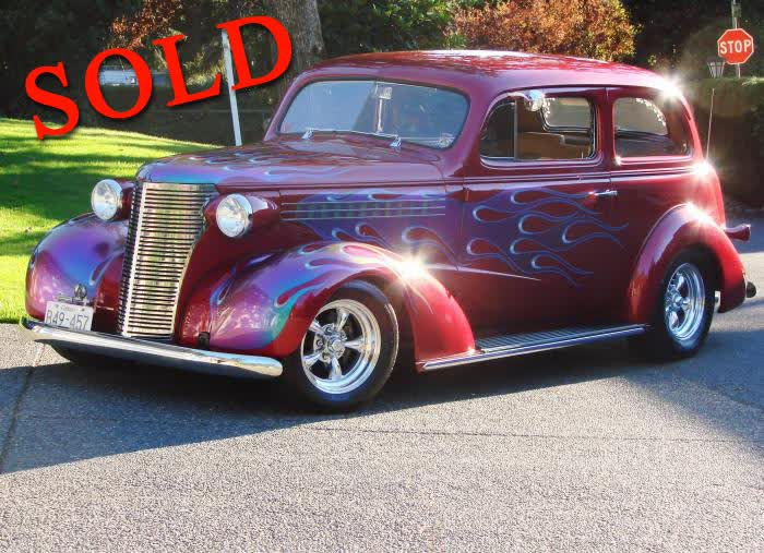 1938 Chevrolet 2 Door Sedan