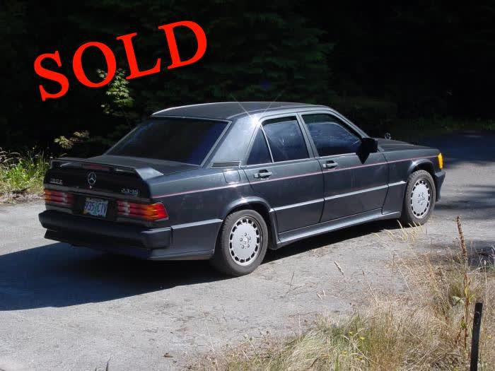 1986 Mercedes Cosworth 2.3 16V