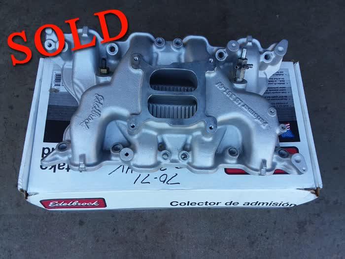 Edelbrock Performer Intake Manifold For Ford 351 Cleveland (NEW) <font color=red>*SOLD*</font color>