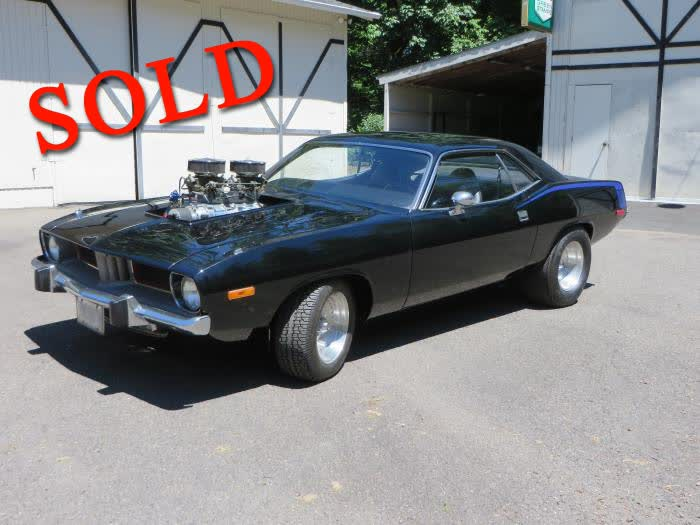 1974 Plymouth Hemi Cuda <font color=red>*SOLD*</font color>