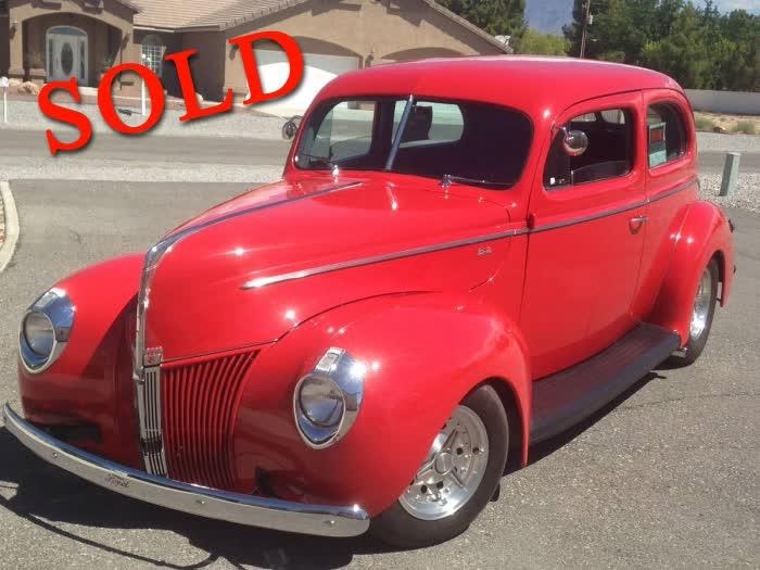 1940 Ford 2 Door Sedan <font color=red>*SOLD*</font color>