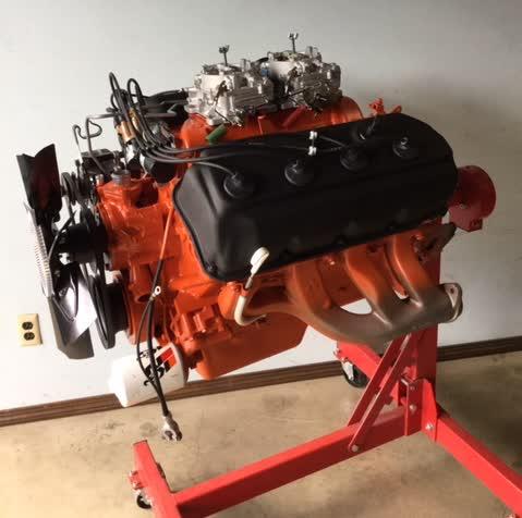 1970 Chrysler 426 Hemi Engine