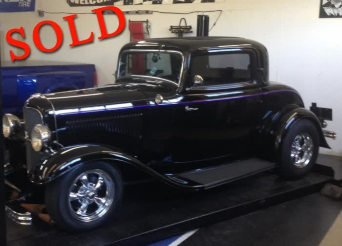 1932 FORD THREE WINDOW COUPE - ALL STEEL <font color=red>*SOLD*</font color>