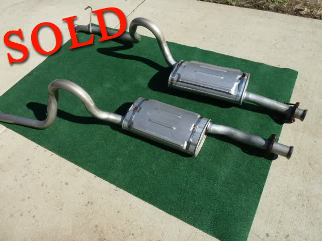 Used Parts - 1989 Mustang GT OEM Exhaust <font color=red>*SOLD*</font color>