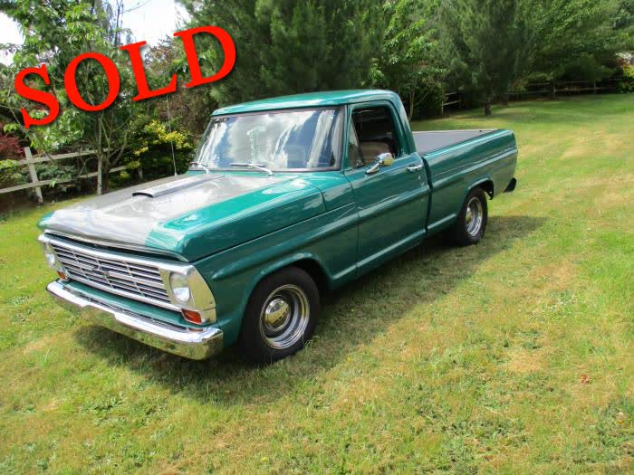 1970 Ford F-100 SWB Pick-Up Gorgeous <font color=red>*SOLD*</font color>