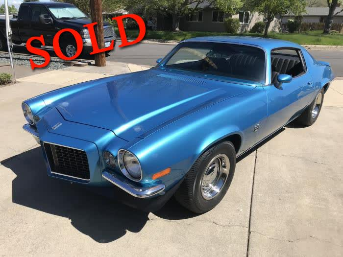 1970 Chevrolet Camaro SS RS <font color=red>*SOLD*</font color>
