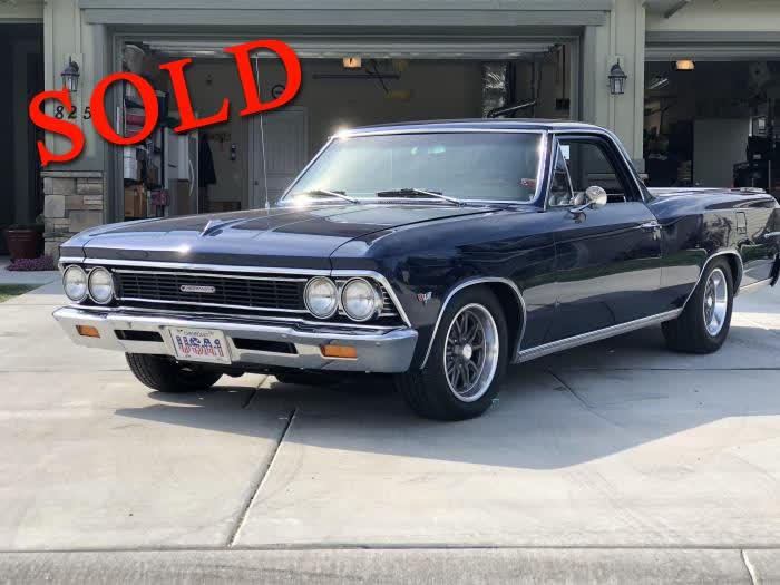 1966 Chevrolet El Camino <font color=red>*SOLD*</font color>