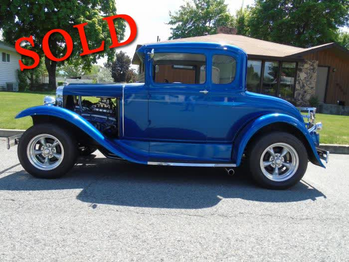 1930 Ford Model A 5 Window Coupe Street Rod W/Blower <font color=red>*SOLD*</font color>