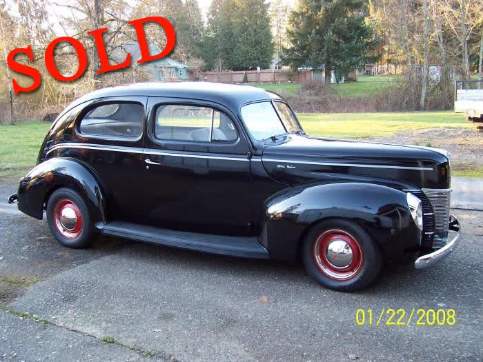 1940 Ford Deluxe 2 Door Sedan <font color=red>*SOLD*</font color>