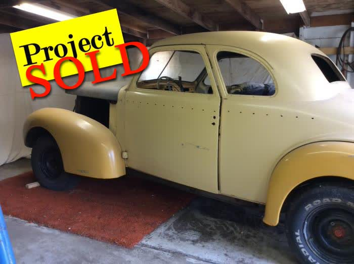 1939 LaSalle Coupe Rolling Project