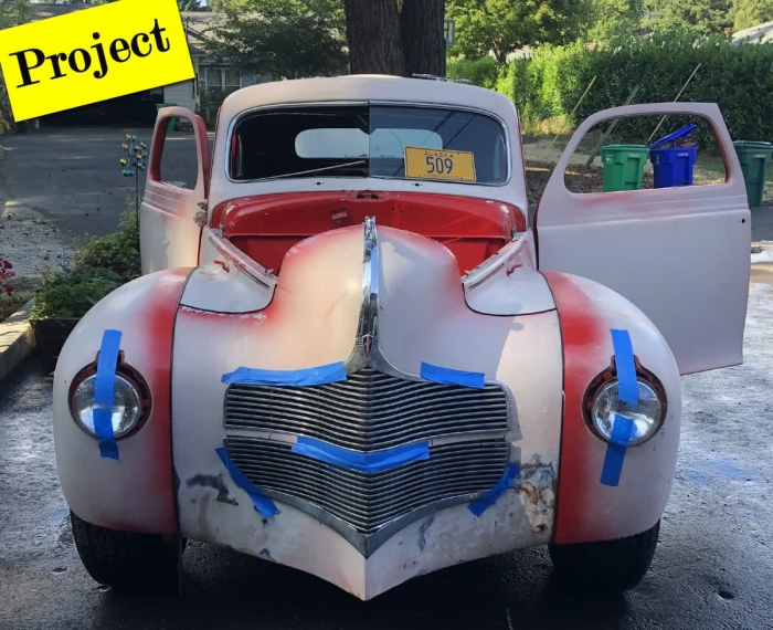 1939 Dodge Coupe Project