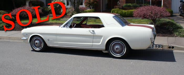 1966 Ford Mustang Coupe <font color=red>*SOLD*</font color>