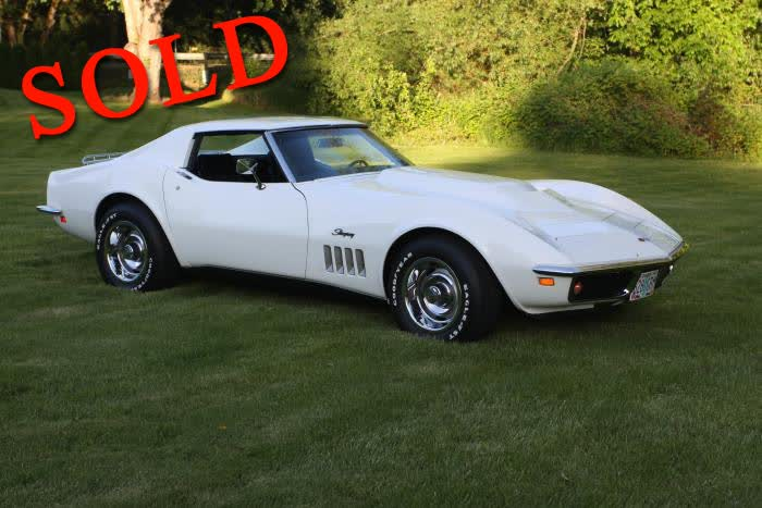 1969 Chevrolet Corvette 350hp 350, 4 Speed, Matching Numbers