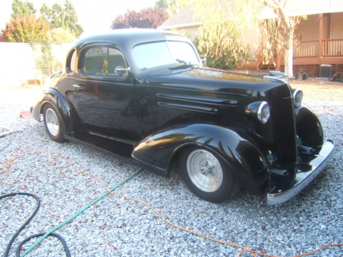 1936 Chevrolet Business Coupe All Steel