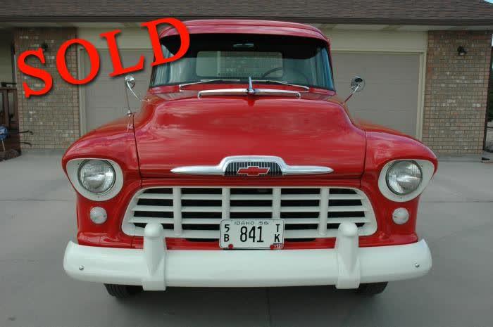 1956 Chevrolet Step Side, Short Box, ½ Ton Pickup