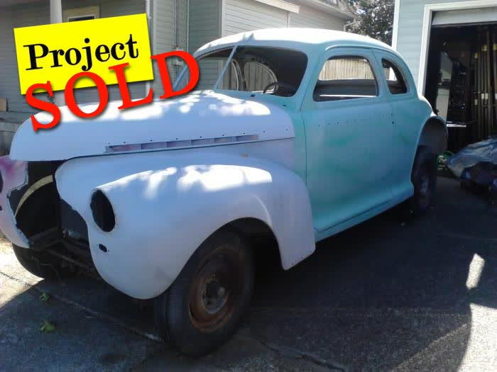 1941 Chevrolet 2-Door Coupe Deluxe