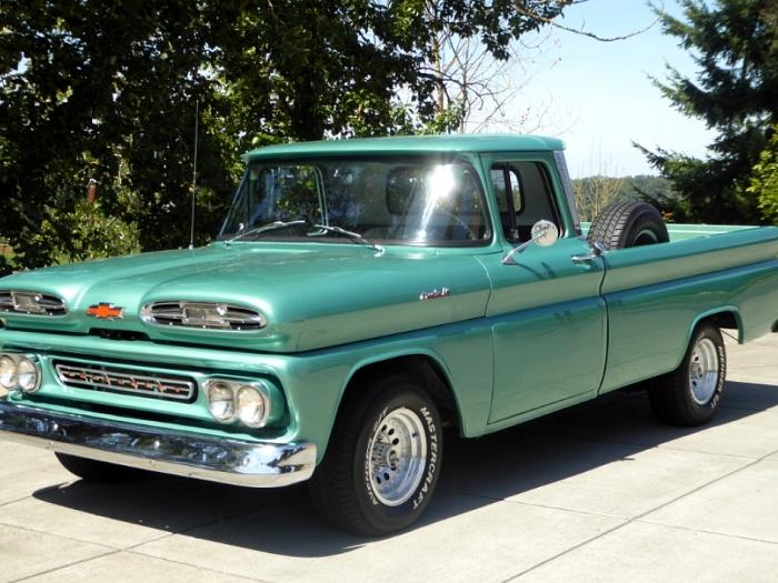 1961 Chevrolet Apache Pickup Custom