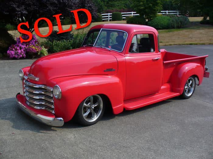 1953 Chevrolet 3100 Pickup <font color=red>*SOLD*</font color>