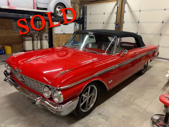 1962 Ford Galaxie 500 XL Convertible <font color=red>*SOLD*</font color>