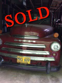 1949 Dodge 3/4 Ton Ram Pickup <font color=red>*SOLD*</font color>