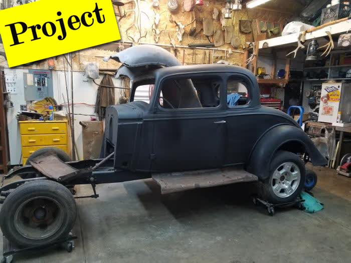 1934 Chevrolet 2 Door 5 Window - PROJECT