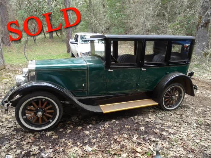 1926 Franklin 11-A 4 4 Door Sedan