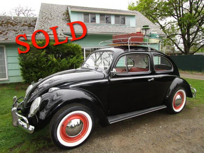 1959 Volkswagen VW BUG Classic Beautifully Restored <font color=red>*SOLD*</font color>
