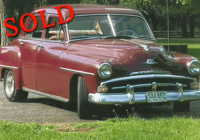 1951 Plymouth Cranbrook <font color=red>*SOLD*</font color>