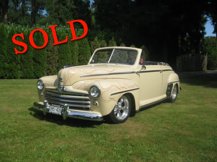 1947 Ford Deluxe Convertible LS1 <font color=red>*SOLD*</font color>