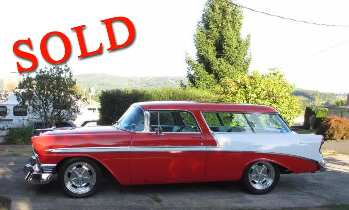 1956 Chevrolet Nomad Red and White <font color=red>*SOLD*</font color>
