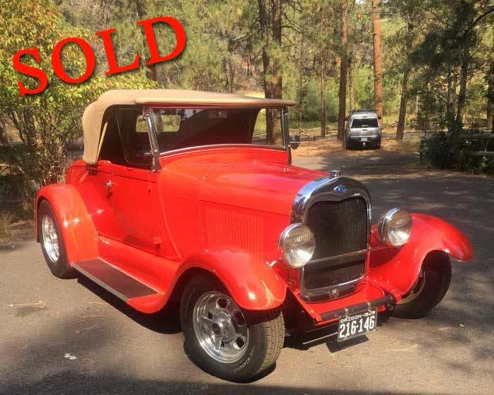 1929 Ford Model A Roadster <font color=red>*SOLD*</font color>