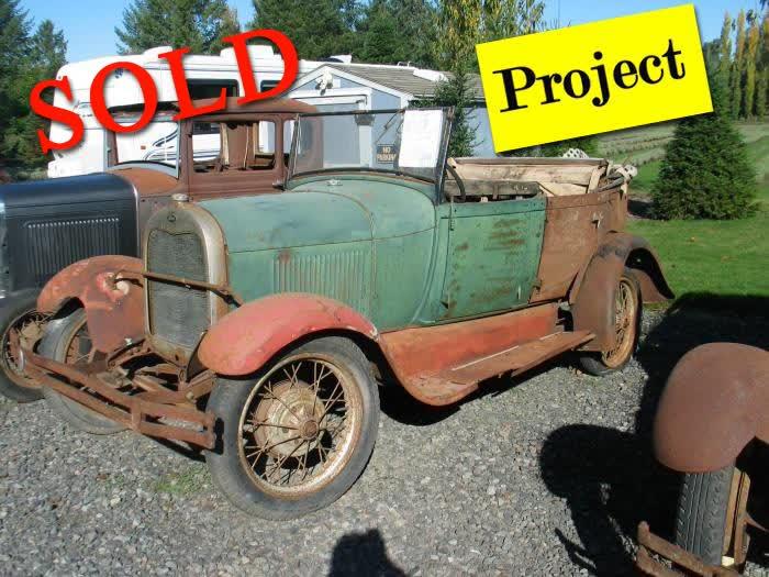 1928 Ford Model A Phaeton <font color=red>*SOLD*</font color>