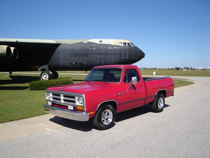 1986 Dodge D150 Ram Short Bed Pickup