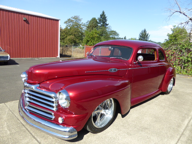 1948 Mercury Monarch Canadian Coupe with Matching Trailer