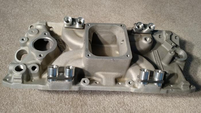 *NEW* Original Edelbrock Port Fuel Injection Manifold for SBC