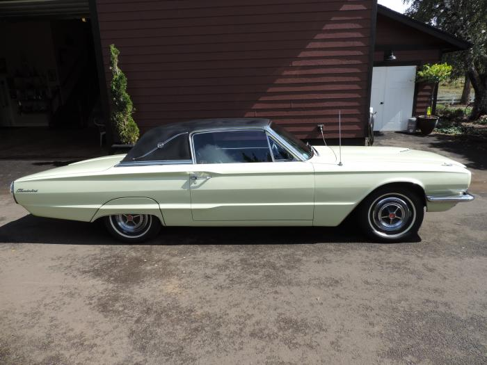 1966 Ford Thunderbird Landau Numbers Matching