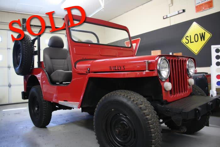 1948 Willys CJ2A <font color=red>*SOLD*</font color>