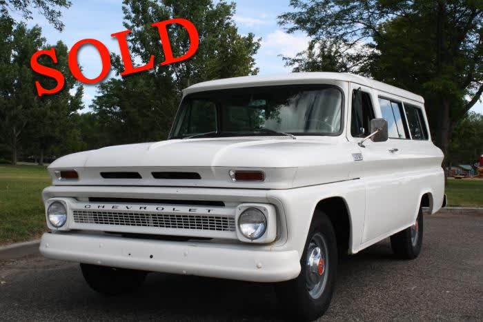 1965 Chevrolet Suburban <font color=red>*SOLD*</font color>