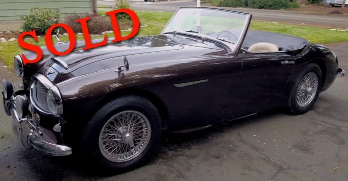 1963 Austin Healey 3000 Mark II Rare, Beautiful <font color=red>*SOLD*</font color>