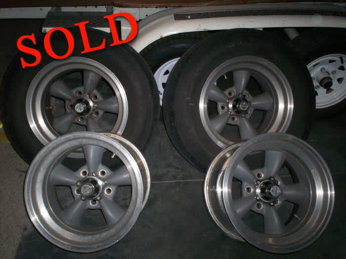 Used Parts - American Racing Torque Thrust Wheels <font color=red>*SOLD*</font color>