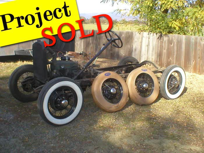 1931 Ford Model A Frame and Parts <font color=red>*SOLD*</font color>