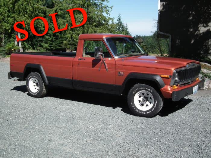 Clified Ads - Clic Trucks For Sale - 1985 Jeep J10 Pickup ...