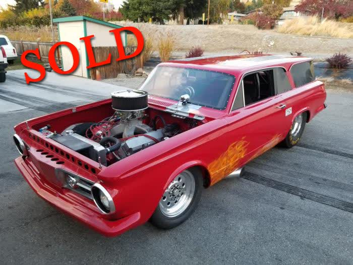 1964 Plymouth Valiant Wagon 2 Door 1 of 1 <font color=red>*SOLD*</font color>