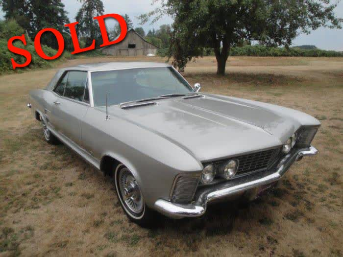 1963 Buick Riviera 2D Coupe <font color=red>*SOLD*</font color>
