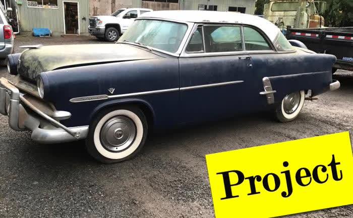 1953 Ford Crestline Victoria NO RUST!!!
