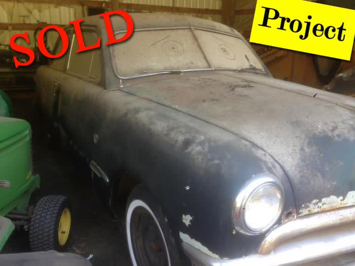 1950 Ford Custom Deluxe Sedan 2 Door <font color=red>*SOLD*</font color>