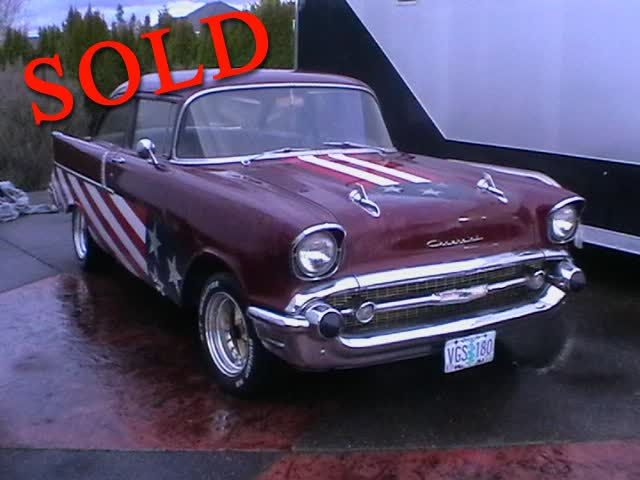1957 Chevrolet 2 Door Post