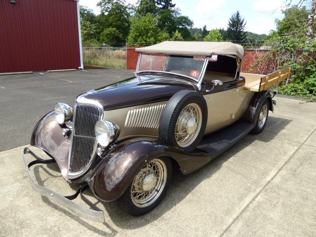 1934 Ford Australian Ute Roadster Pickup Truck