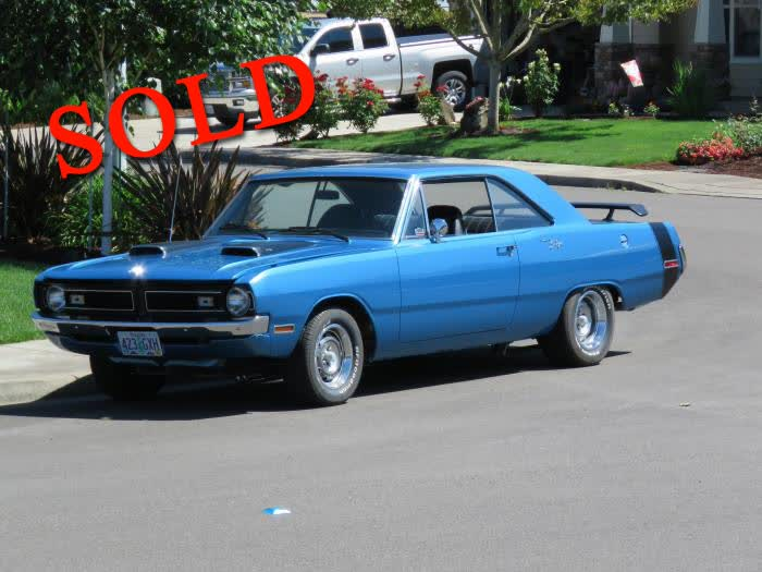 1970 Dodge Dart Swinger - Made in Canada <font color=red>*SOLD*</font color>