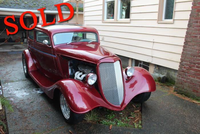1934 Ford Vicky <font color=red>*SOLD*</font color>